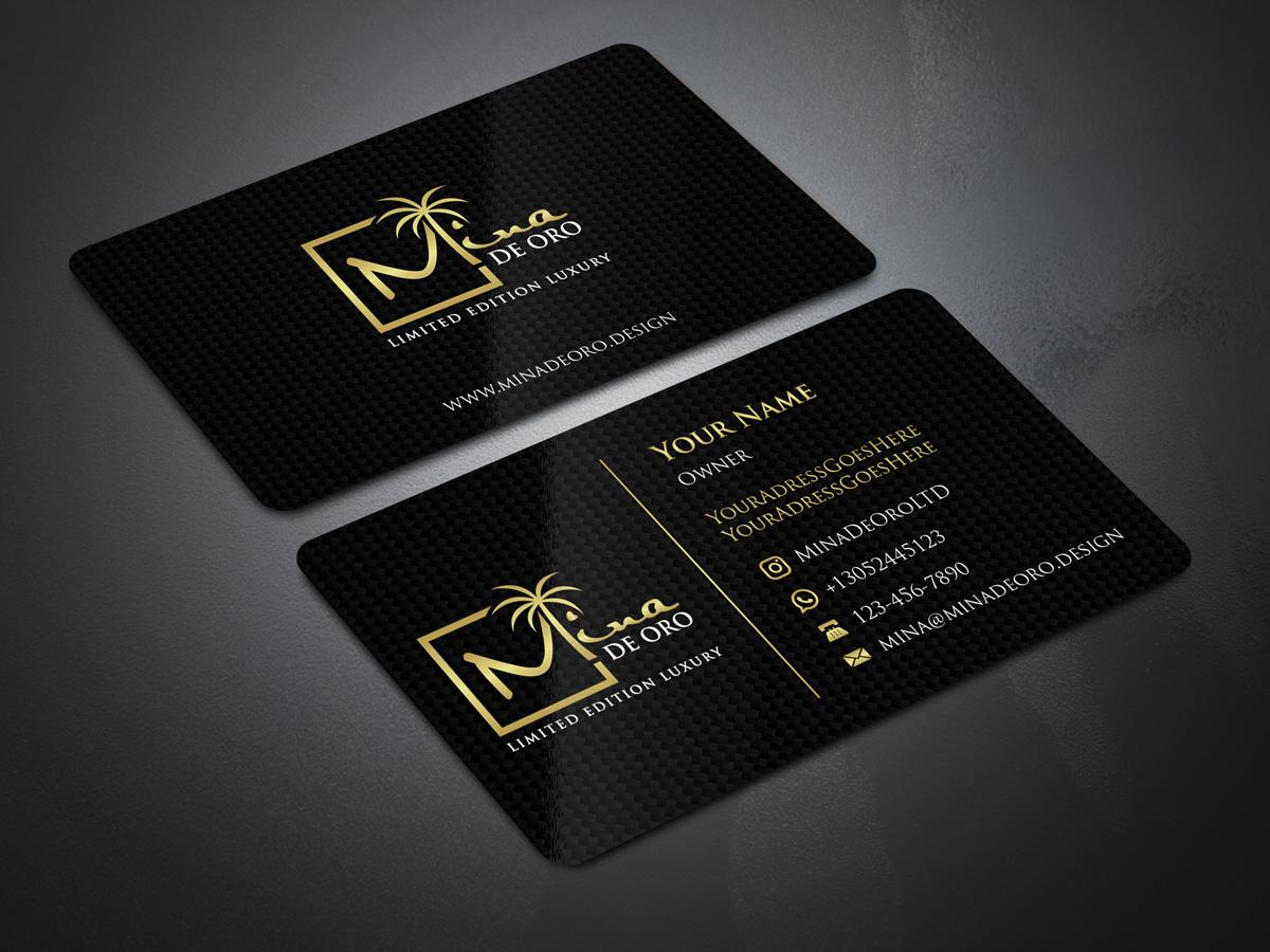 Mina de Oro logo design by Gelotine