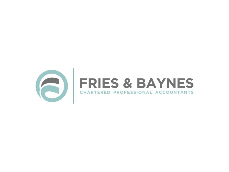 Fries & Baynes Chartered Professional Accountants logo design by zegeningen