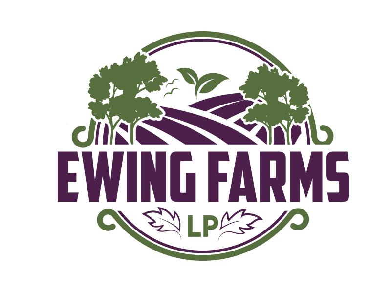 Ewing Farms LP logo design by MarkindDesign™