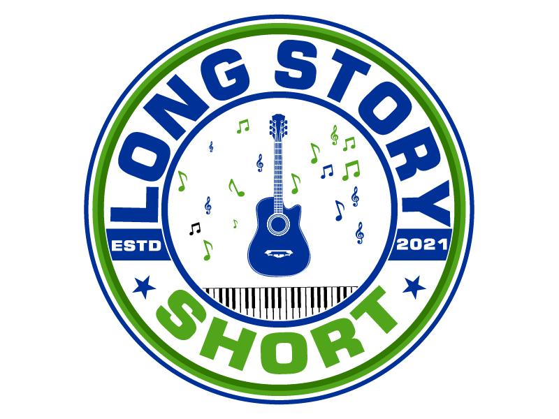 Long Story Short logo design by LogoQueen