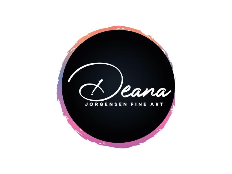Deana Jorgensen Fine Art logo design by Webphixo
