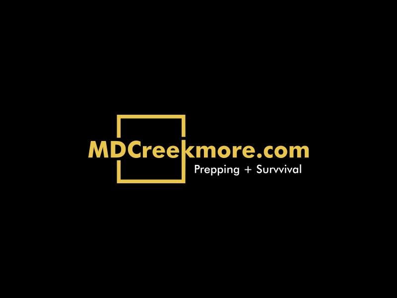 MDCreekmore.com - Prepping + Survival logo design by Zeratu
