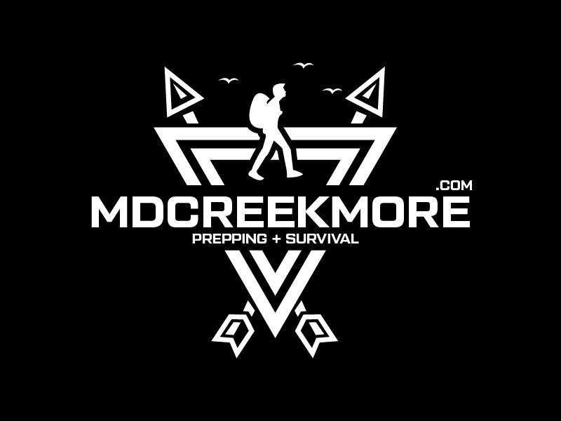 MDCreekmore.com - Prepping + Survival logo design by czars