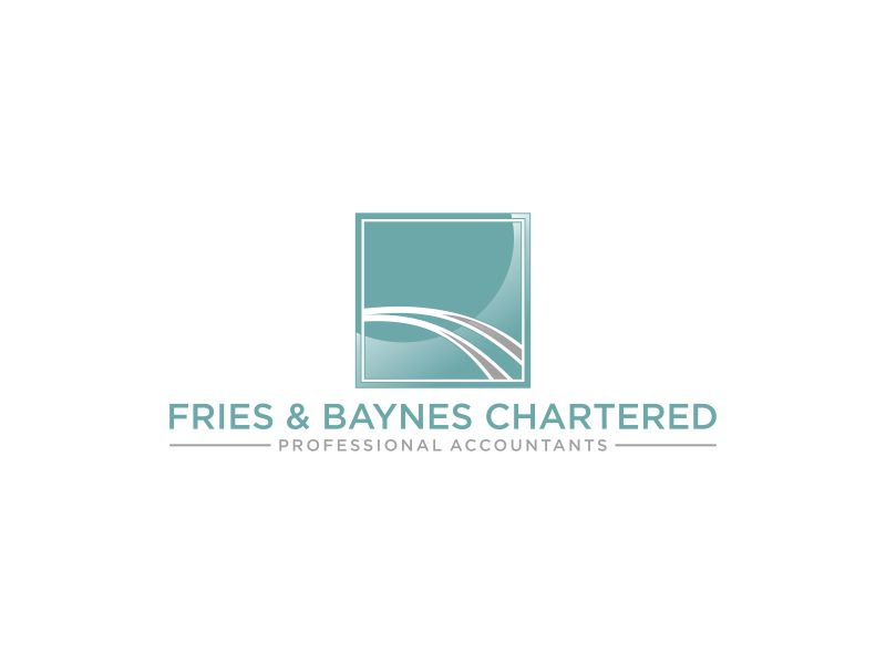 Fries & Baynes Chartered Professional Accountants logo design by Gedibal