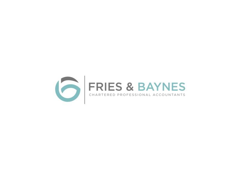 Fries & Baynes Chartered Professional Accountants logo design by Galfine