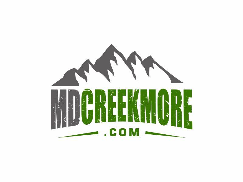 MDCreekmore.com - Prepping + Survival logo design by Girly