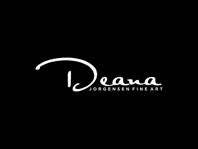 Deana Jorgensen Fine Art logo design by andayani*