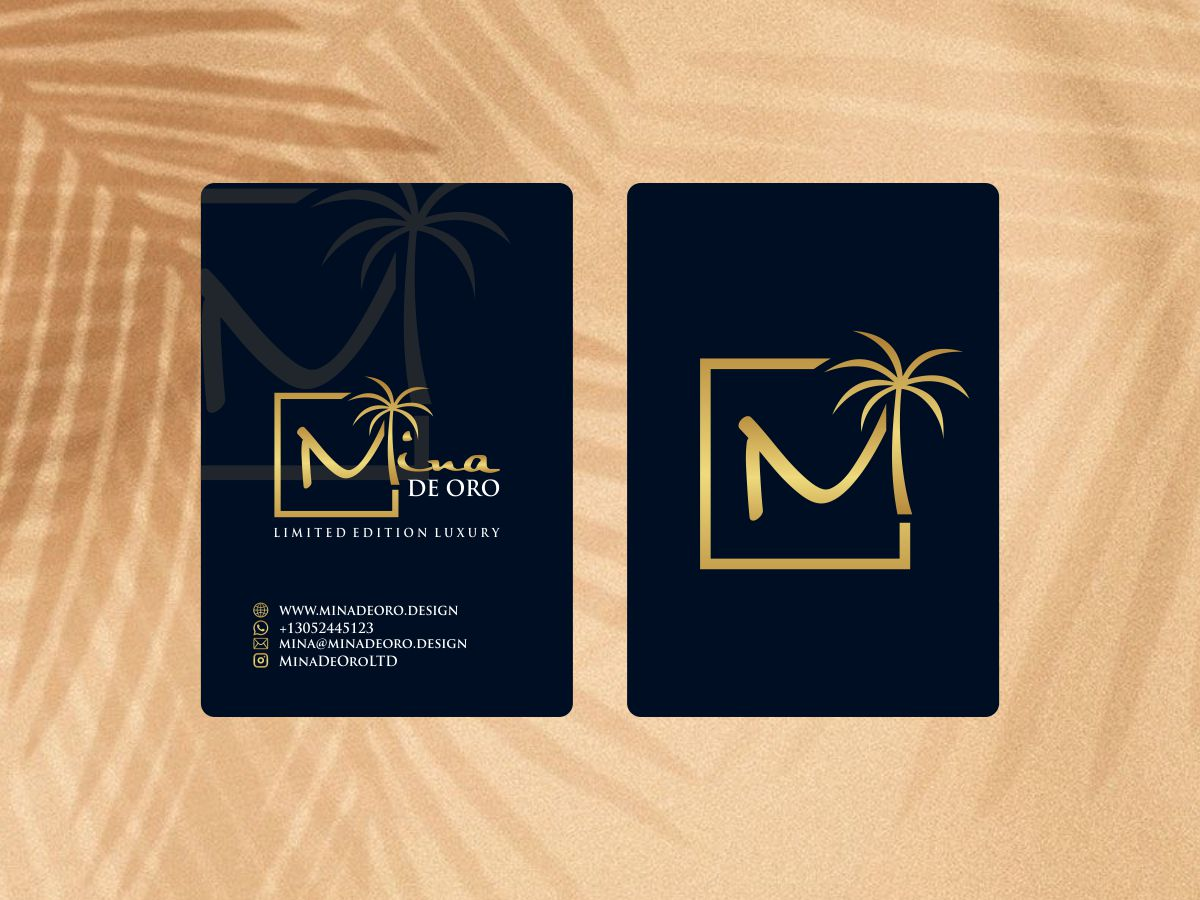 Mina de Oro logo design by done