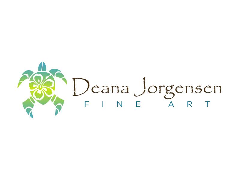 Deana Jorgensen Fine Art logo design by karjen