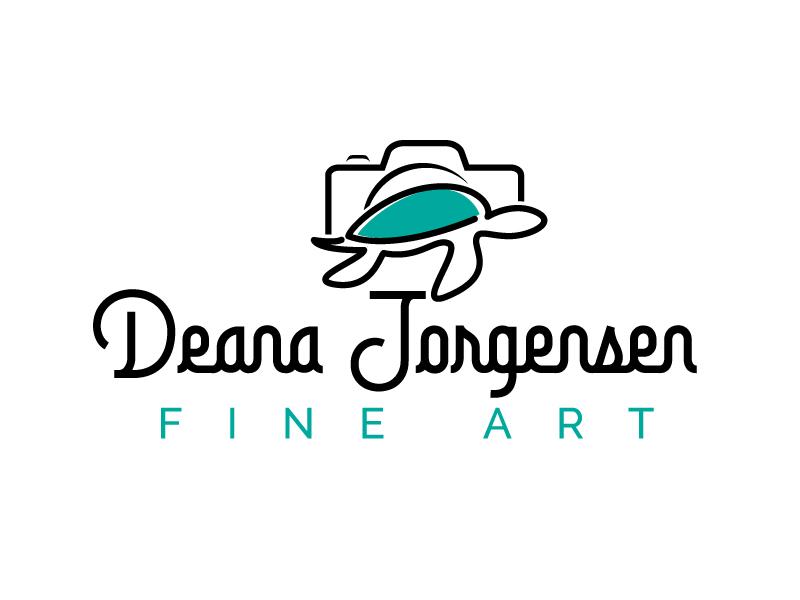 Deana Jorgensen Fine Art logo design by jaize