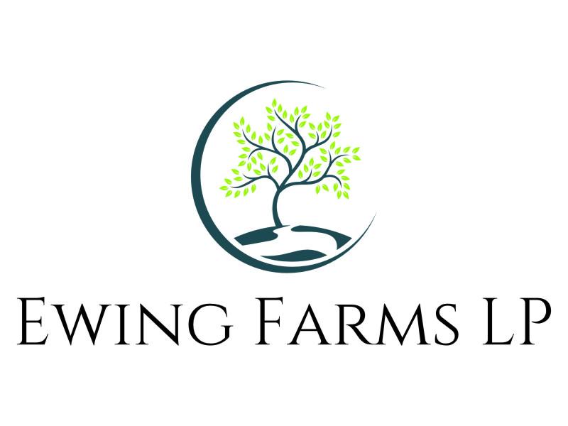 Ewing Farms LP logo design by jetzu