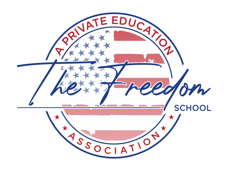 The Freedom School - A Private Education Association Logo Design
