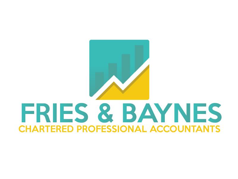 Fries & Baynes Chartered Professional Accountants logo design by ElonStark