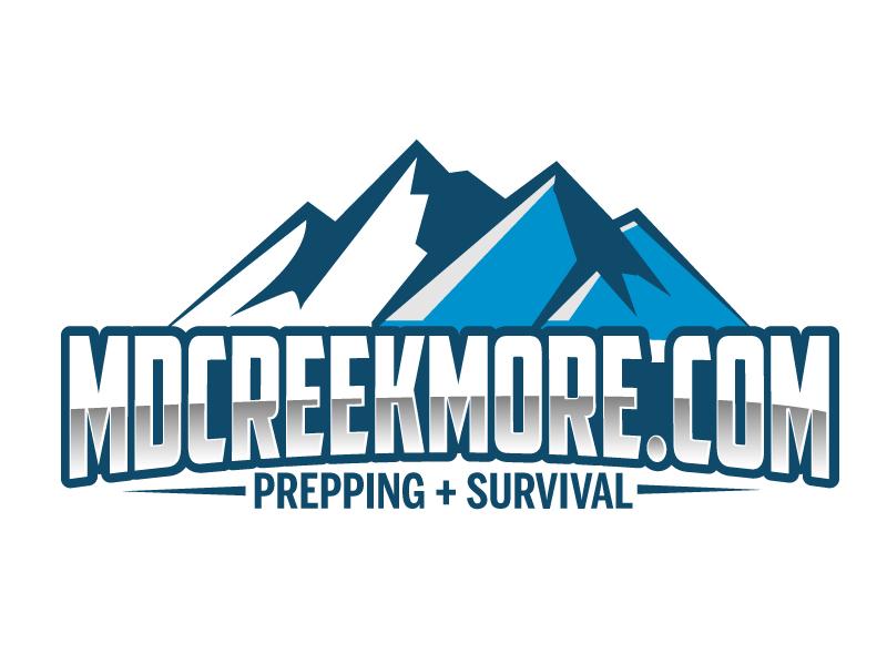 MDCreekmore.com - Prepping + Survival logo design by ElonStark