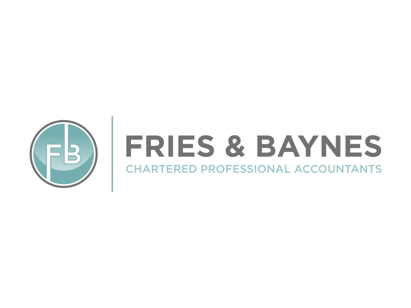 Fries & Baynes Chartered Professional Accountants logo design by qqdesigns