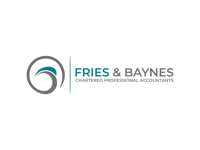 Fries & Baynes Chartered Professional Accountants logo design by Walv