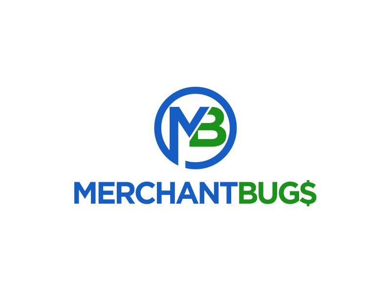 MerchantBugs logo design by oke2angconcept