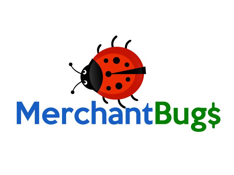 MerchantBugs logo design by ElonStark