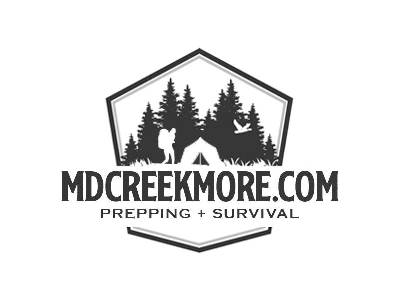 MDCreekmore.com - Prepping + Survival logo design by kunejo