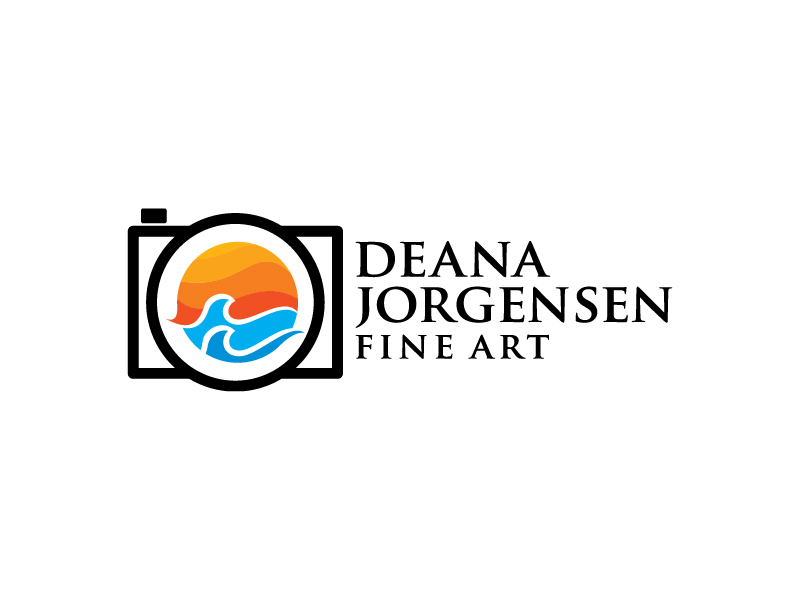 Deana Jorgensen Fine Art logo design by chusni evitasari