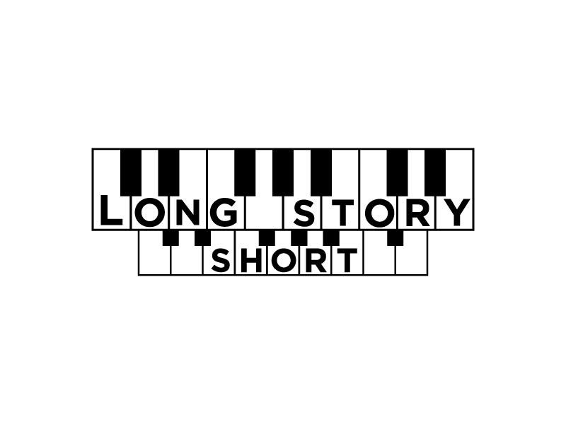 Long Story Short logo design by Htz_Creative