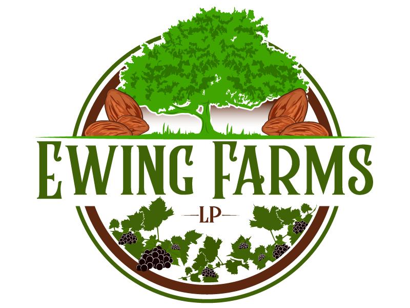 Ewing Farms LP logo design by Suvendu