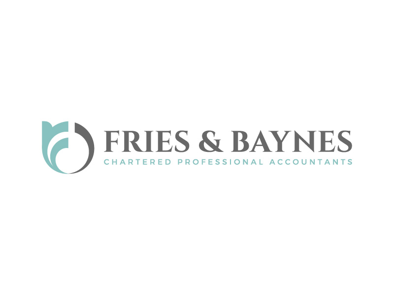 Fries & Baynes Chartered Professional Accountants logo design by CreativeKiller
