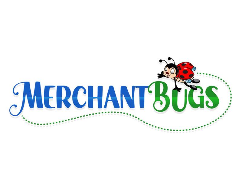 MerchantBugs logo design by DreamLogoDesign