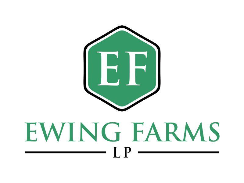 Ewing Farms LP logo design by dewipadi