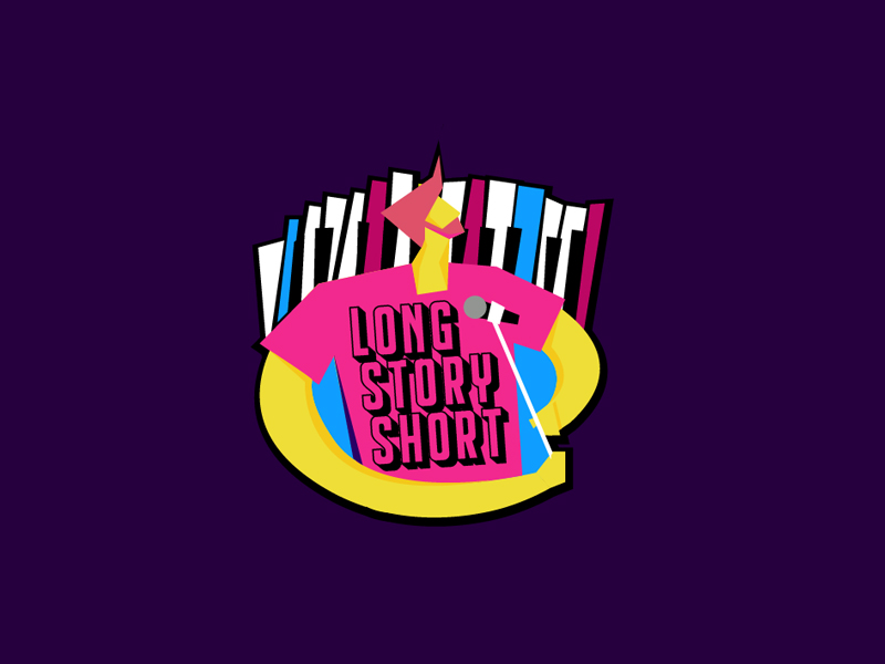 Long Story Short logo design by Loregraphic