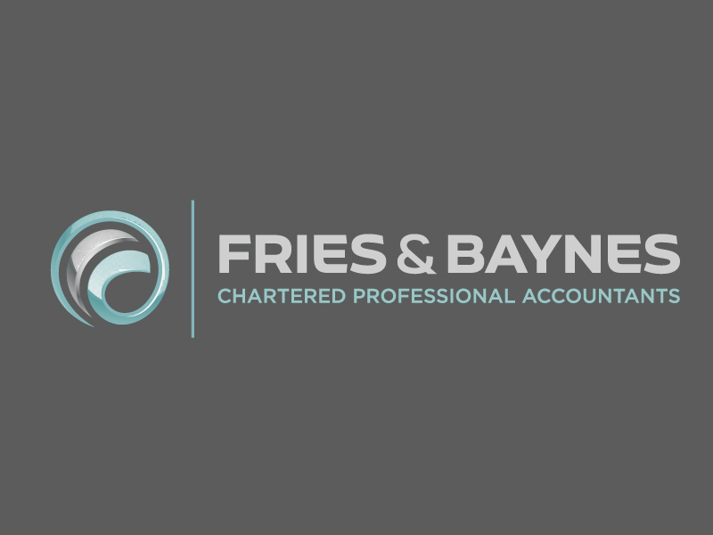 Fries & Baynes Chartered Professional Accountants logo design by jaize