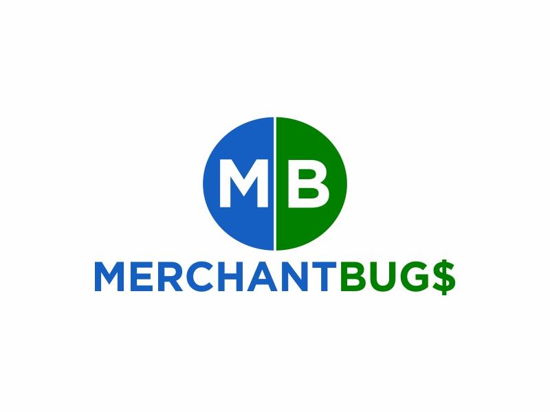 MerchantBugs logo design by Greenlight