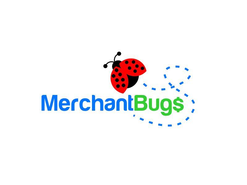 MerchantBugs logo design by serprimero