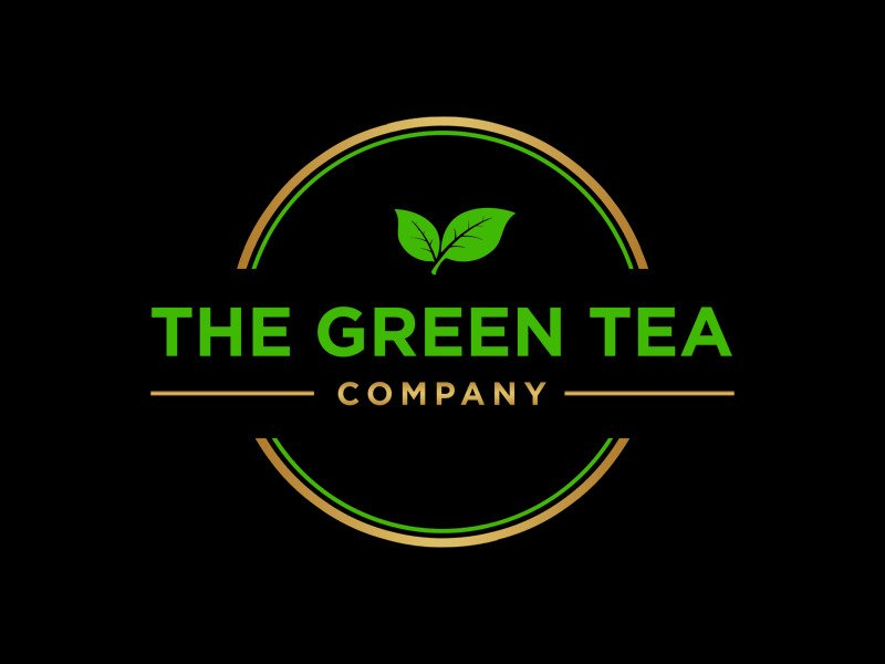 The Green Tea Company Logo Design