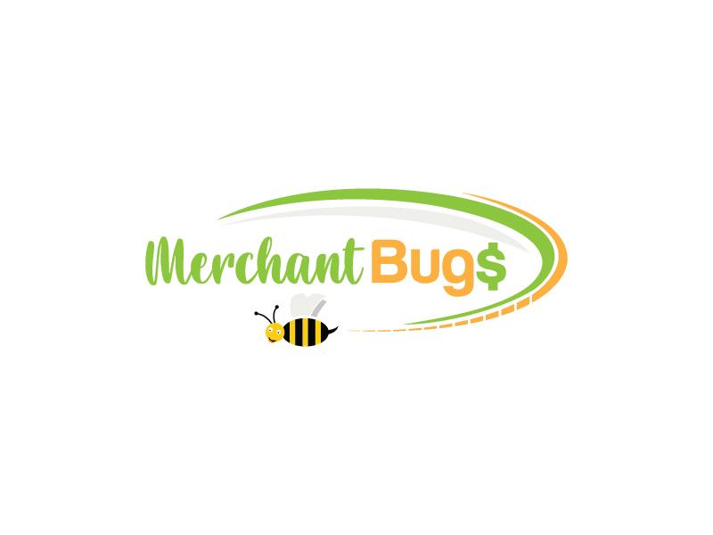 MerchantBugs logo design by Shailesh