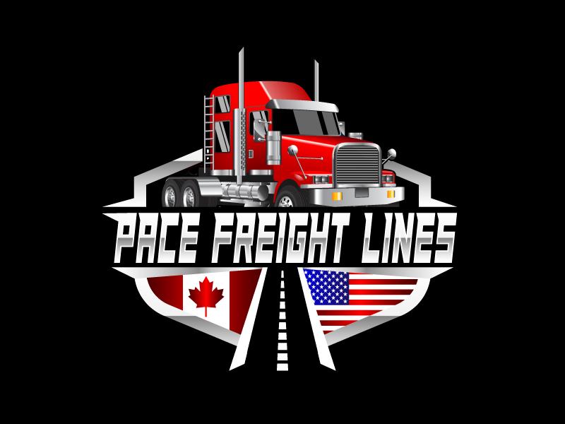 Pace Freight Lines logo design by Vu Acim