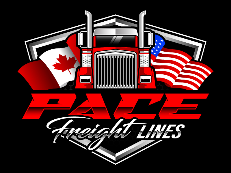 Pace Freight Lines logo design by daywalker