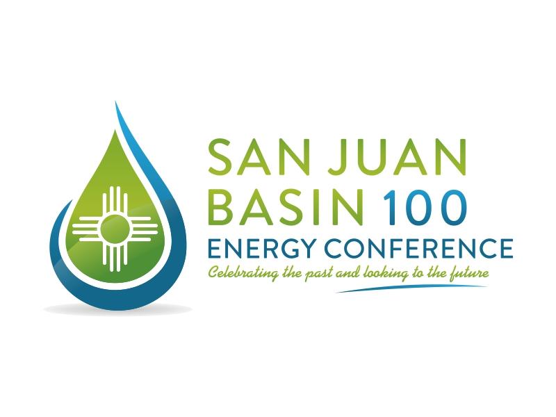 San Juan Basin Energy Conference logo design by barley