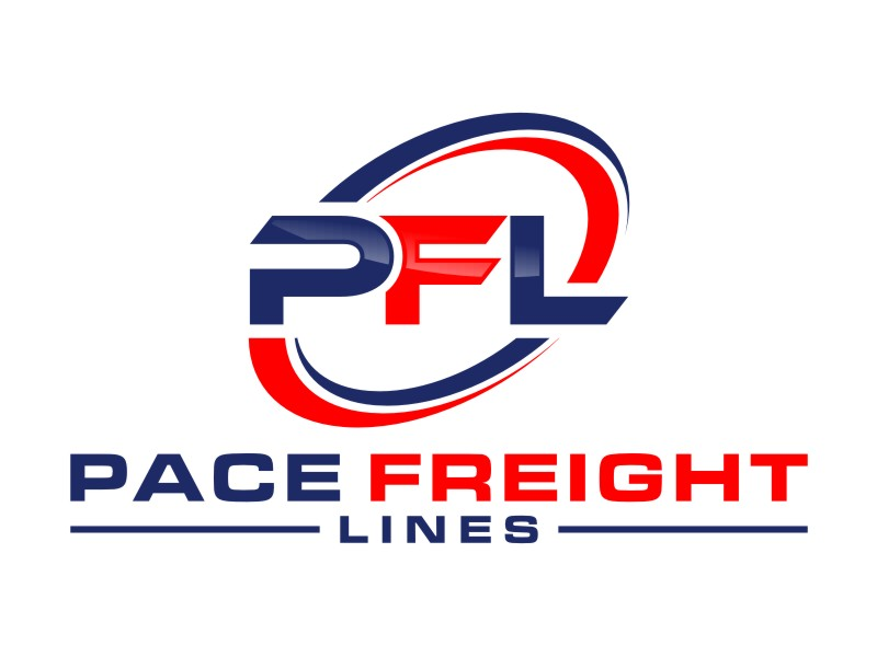 Pace Freight Lines logo design by Arto moro