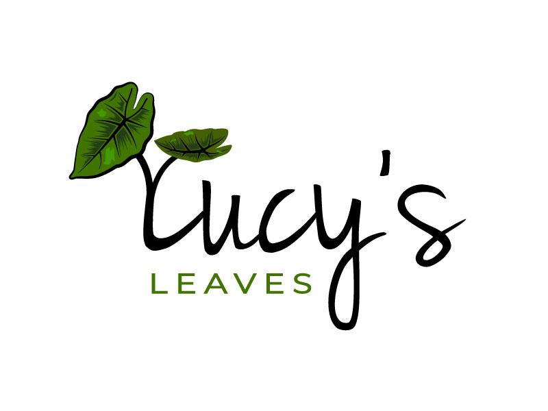 Lucy's Leaves logo design by Bhaskar Shil