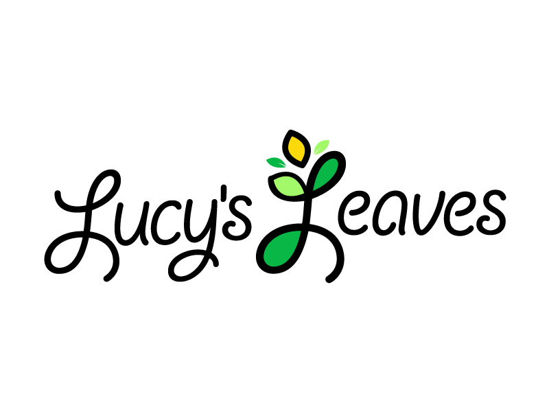 Lucy's Leaves logo design by logoexpress