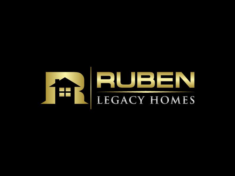 Ruben Legacy Homes logo design by CreativeKiller