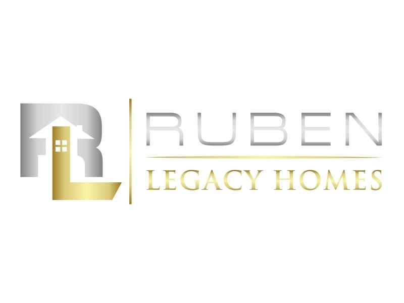 Ruben Legacy Homes logo design by DeyXyner