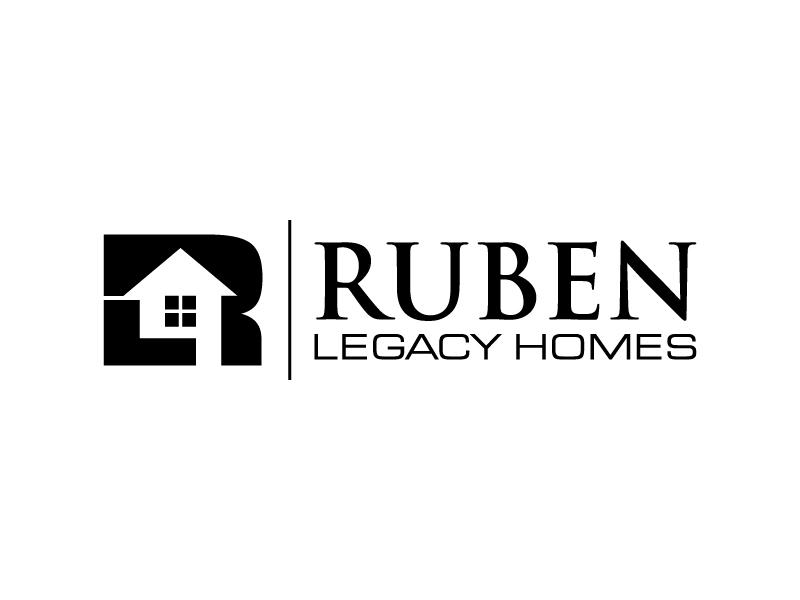 Ruben Legacy Homes logo design by denfransko