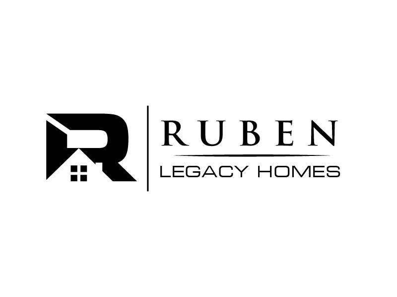 Ruben Legacy Homes logo design by usef44