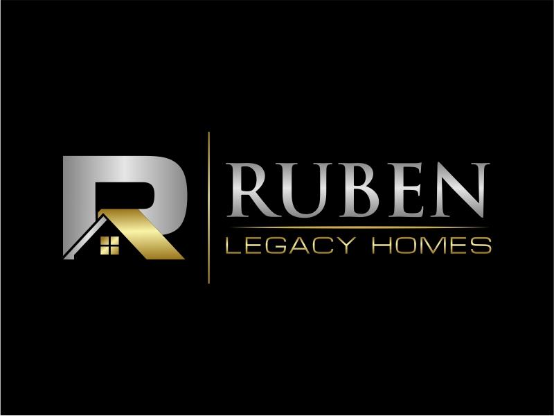 Ruben Legacy Homes logo design by mutafailan