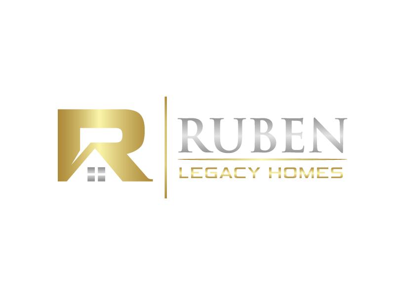 Ruben Legacy Homes logo design by Marianne