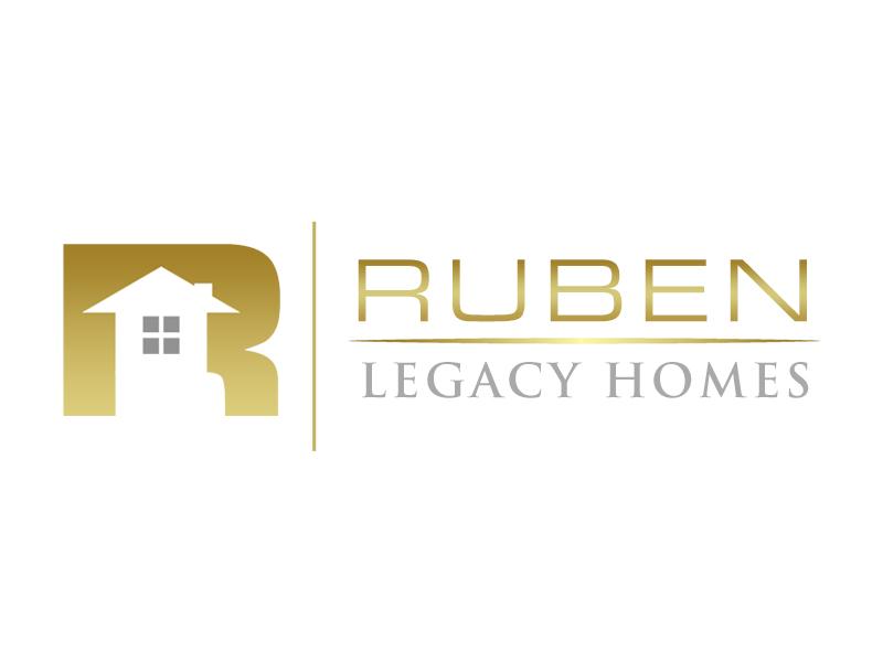 Ruben Legacy Homes logo design by kunejo