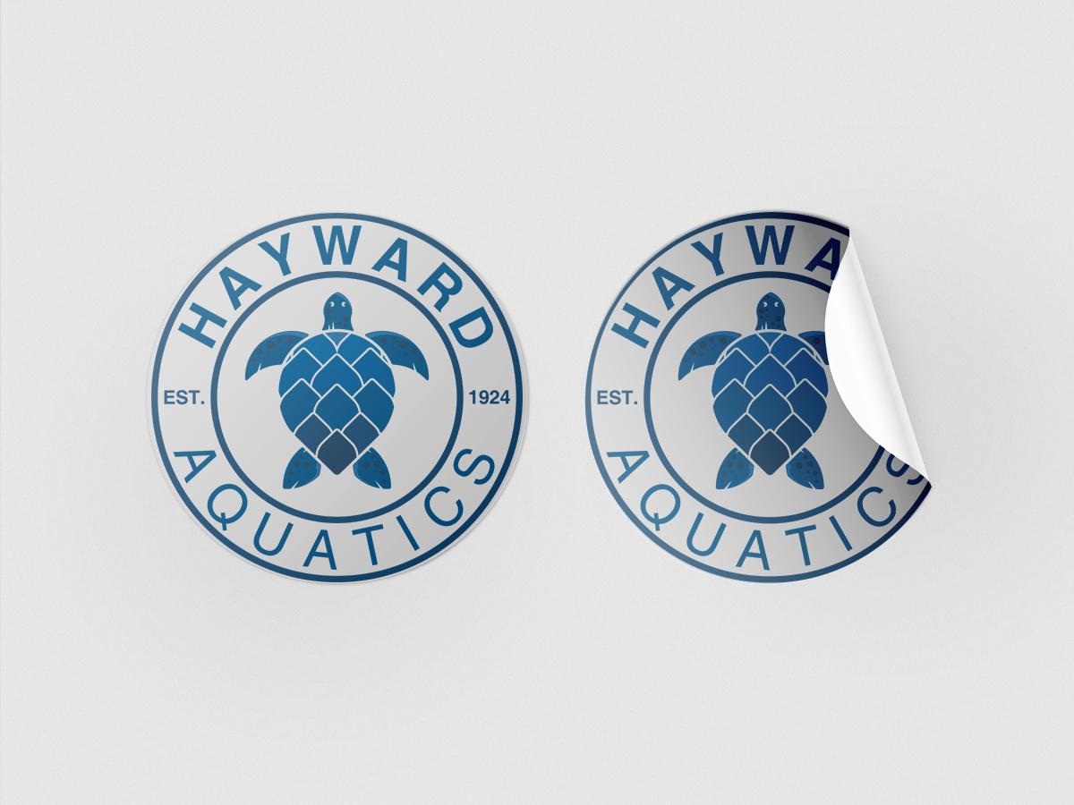 Hayward Turtle Logo logo design by grea8design