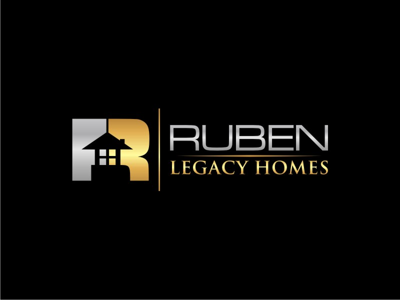 Ruben Legacy Homes logo design by Neng Khusna